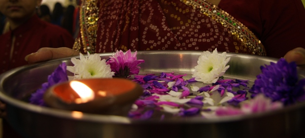 Aarti at Navratri